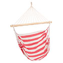 hammock cotton chair marinera red