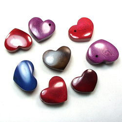 tagua slice jewelry forms