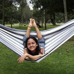happy customer of our hammocks