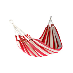 hammock cotton stripe red