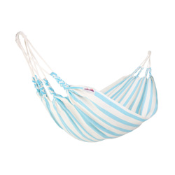 hamac coton sweet dream blue ciel bebe